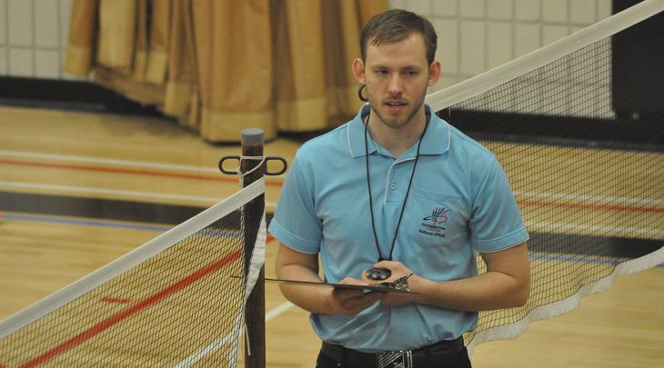 Justin Friesen Going for Pan Am Umpire Accreditation