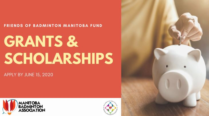 Apply for Friends of Badminton Manitoba funding!